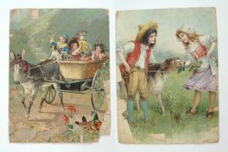De originele voorbeeld platen